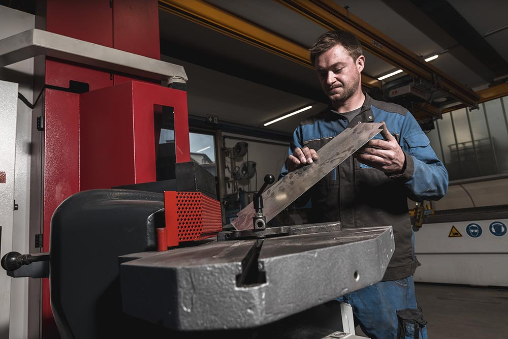 Jäger Metalltechnik, Maschinenpark