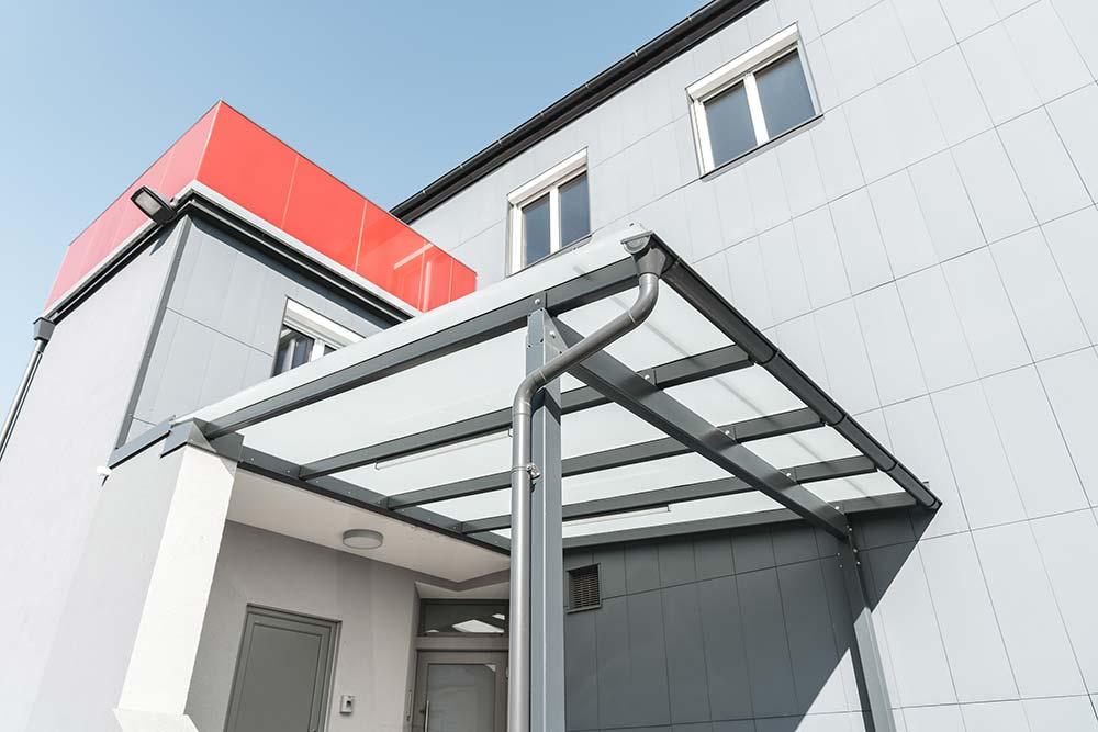 Jäger Metalltechnik: Projekt Modehaus Kutsam Kirchdorf