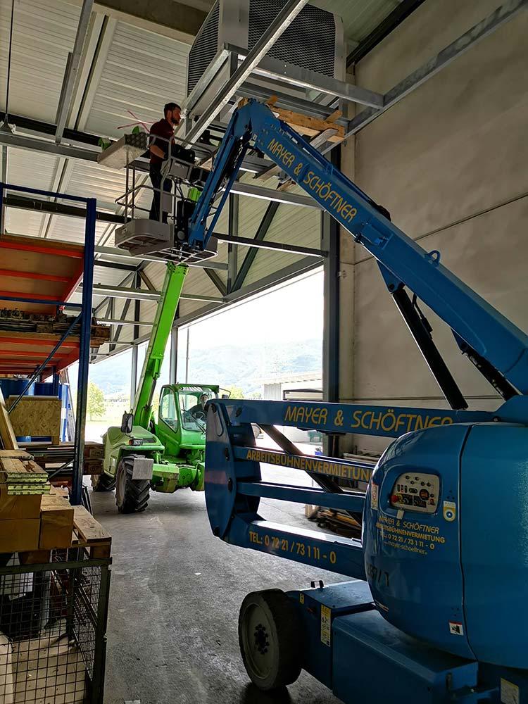 Jäger Metalltechnik: Projekt WIHO Werkzeugbaubetrieb Schlierbach