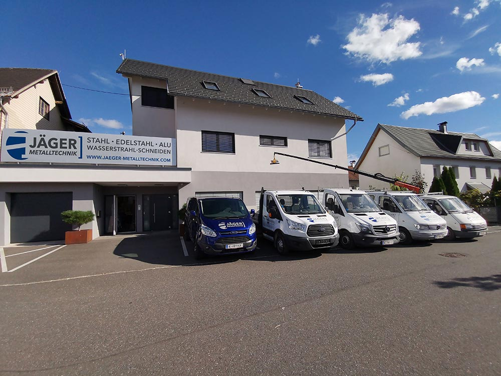 Jäger Metalltechnik, Firmengebäude